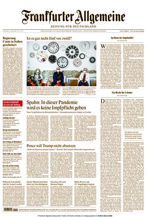 Frankfurter Allgemeine Zeitung (14.01.2021)