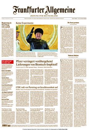 Frankfurter Allgemeine Zeitung (16.01.2021)