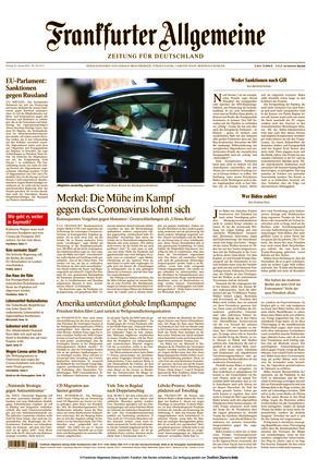 Frankfurter Allgemeine Zeitung (22.01.2021)