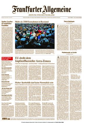 Frankfurter Allgemeine Zeitung (25.01.2021)