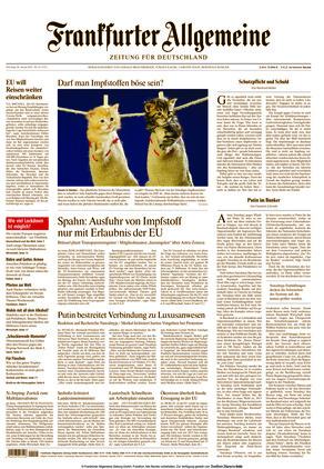 Frankfurter Allgemeine Zeitung (26.01.2021)