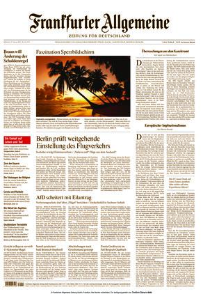 Frankfurter Allgemeine Zeitung (27.01.2021)