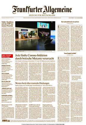 Frankfurter Allgemeine Zeitung (18.02.2021)