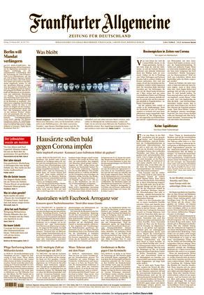 Frankfurter Allgemeine Zeitung (19.02.2021)