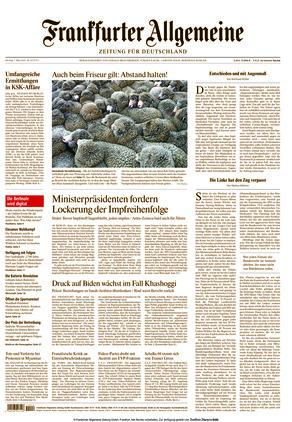 Frankfurter Allgemeine Zeitung (01.03.2021)