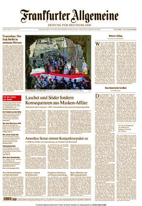 Frankfurter Allgemeine Zeitung (08.03.2021)