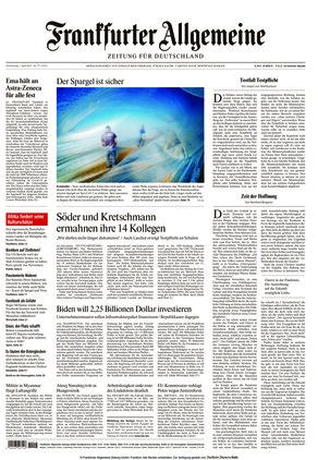 Frankfurter Allgemeine Zeitung (01.04.2021)