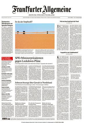 Frankfurter Allgemeine Zeitung (09.04.2021)