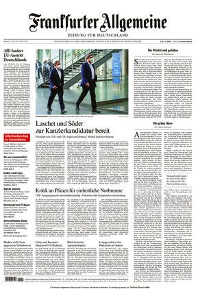 Frankfurter Allgemeine Zeitung (12.04.2021)