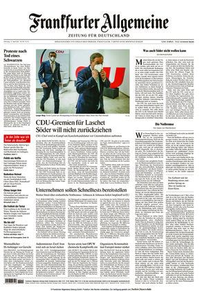 Frankfurter Allgemeine Zeitung (13.04.2021)