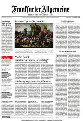 Frankfurter Allgemeine Zeitung (14.04.2021)
