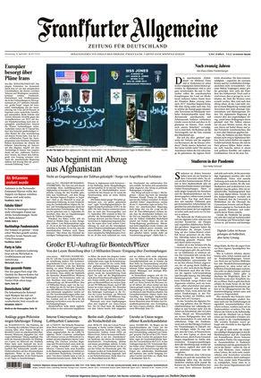 Frankfurter Allgemeine Zeitung (15.04.2021)