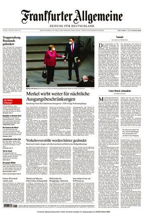 Frankfurter Allgemeine Zeitung (17.04.2021)