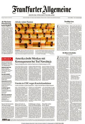 Frankfurter Allgemeine Zeitung (19.04.2021)