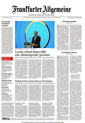 Frankfurter Allgemeine Zeitung (21.04.2021)