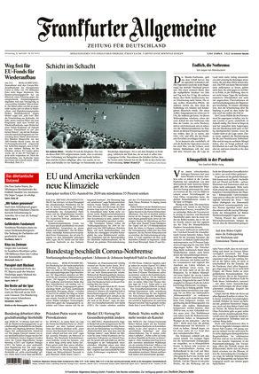 Frankfurter Allgemeine Zeitung (22.04.2021)