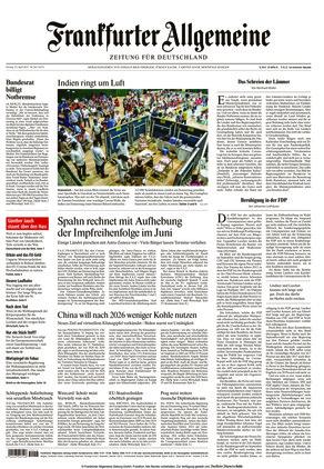 Frankfurter Allgemeine Zeitung (23.04.2021)