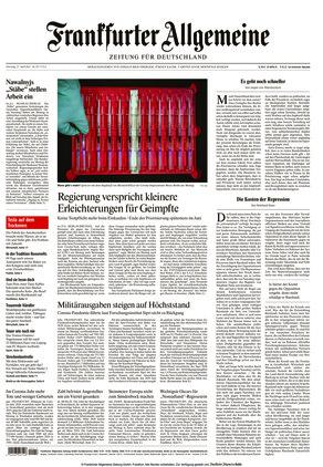 Frankfurter Allgemeine Zeitung (27.04.2021)