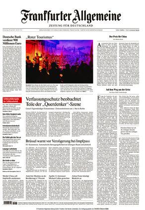 Frankfurter Allgemeine Zeitung (29.04.2021)