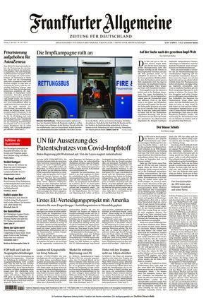 Frankfurter Allgemeine Zeitung (07.05.2021)