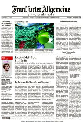 Frankfurter Allgemeine Zeitung (08.05.2021)
