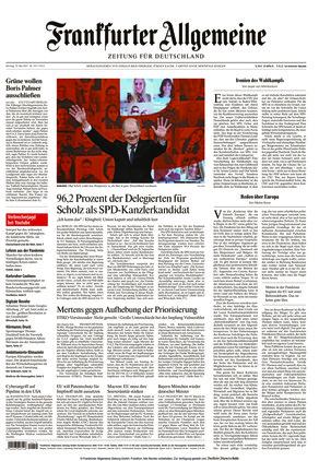 Frankfurter Allgemeine Zeitung (10.05.2021)