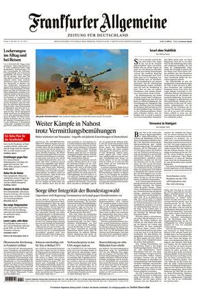 Frankfurter Allgemeine Zeitung (14.05.2021)