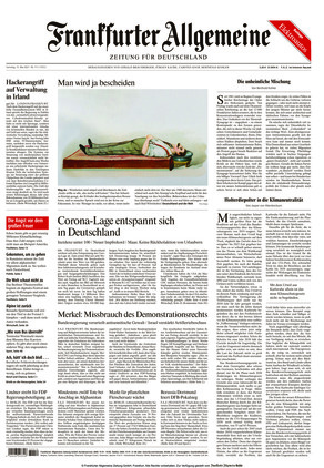 Frankfurter Allgemeine Zeitung (15.05.2021)