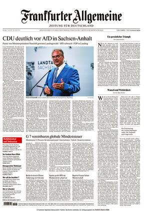 Frankfurter Allgemeine Zeitung (07.06.2021)