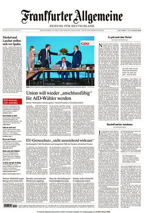 Frankfurter Allgemeine Zeitung (08.06.2021)