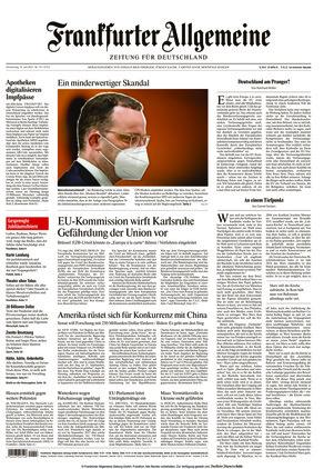 Frankfurter Allgemeine Zeitung (10.06.2021)