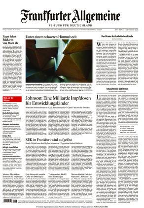 Frankfurter Allgemeine Zeitung (11.06.2021)