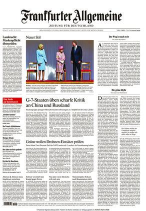 Frankfurter Allgemeine Zeitung (14.06.2021)