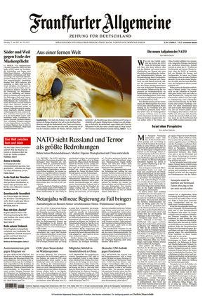 Frankfurter Allgemeine Zeitung (15.06.2021)
