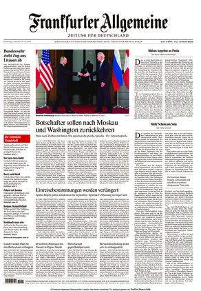 Frankfurter Allgemeine Zeitung (17.06.2021)