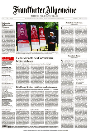 Frankfurter Allgemeine Zeitung (19.06.2021)