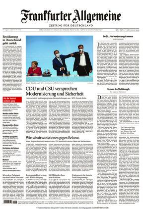 Frankfurter Allgemeine Zeitung (22.06.2021)