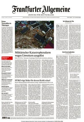 Frankfurter Allgemeine Zeitung (17.07.2021)