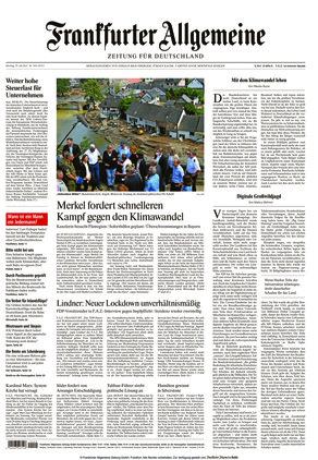 Frankfurter Allgemeine Zeitung (19.07.2021)