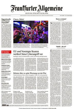 Frankfurter Allgemeine Zeitung (20.07.2021)