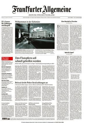 Frankfurter Allgemeine Zeitung (21.07.2021)