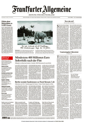 Frankfurter Allgemeine Zeitung (22.07.2021)