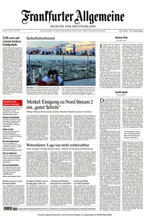 Frankfurter Allgemeine Zeitung (23.07.2021)