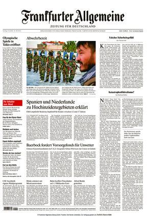 Frankfurter Allgemeine Zeitung (24.07.2021)
