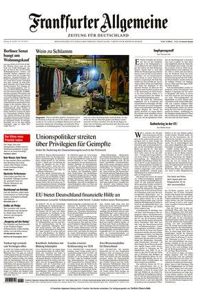Frankfurter Allgemeine Zeitung (26.07.2021)