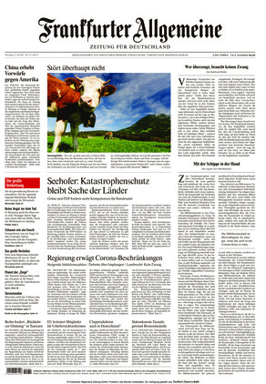 Frankfurter Allgemeine Zeitung (27.07.2021)