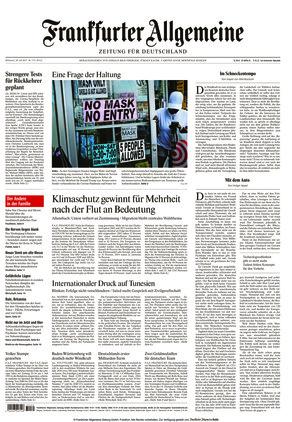 Frankfurter Allgemeine Zeitung (28.07.2021)