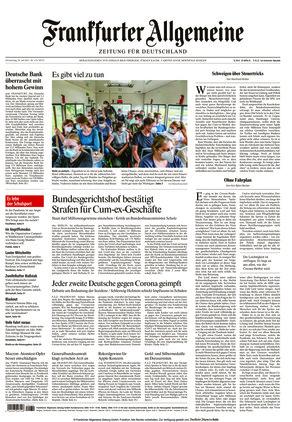 Frankfurter Allgemeine Zeitung (29.07.2021)
