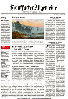 Frankfurter Allgemeine Zeitung (30.07.2021)