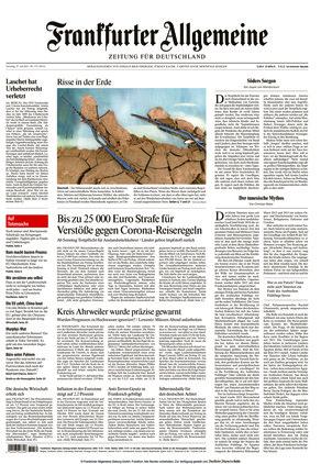 Frankfurter Allgemeine Zeitung (31.07.2021)